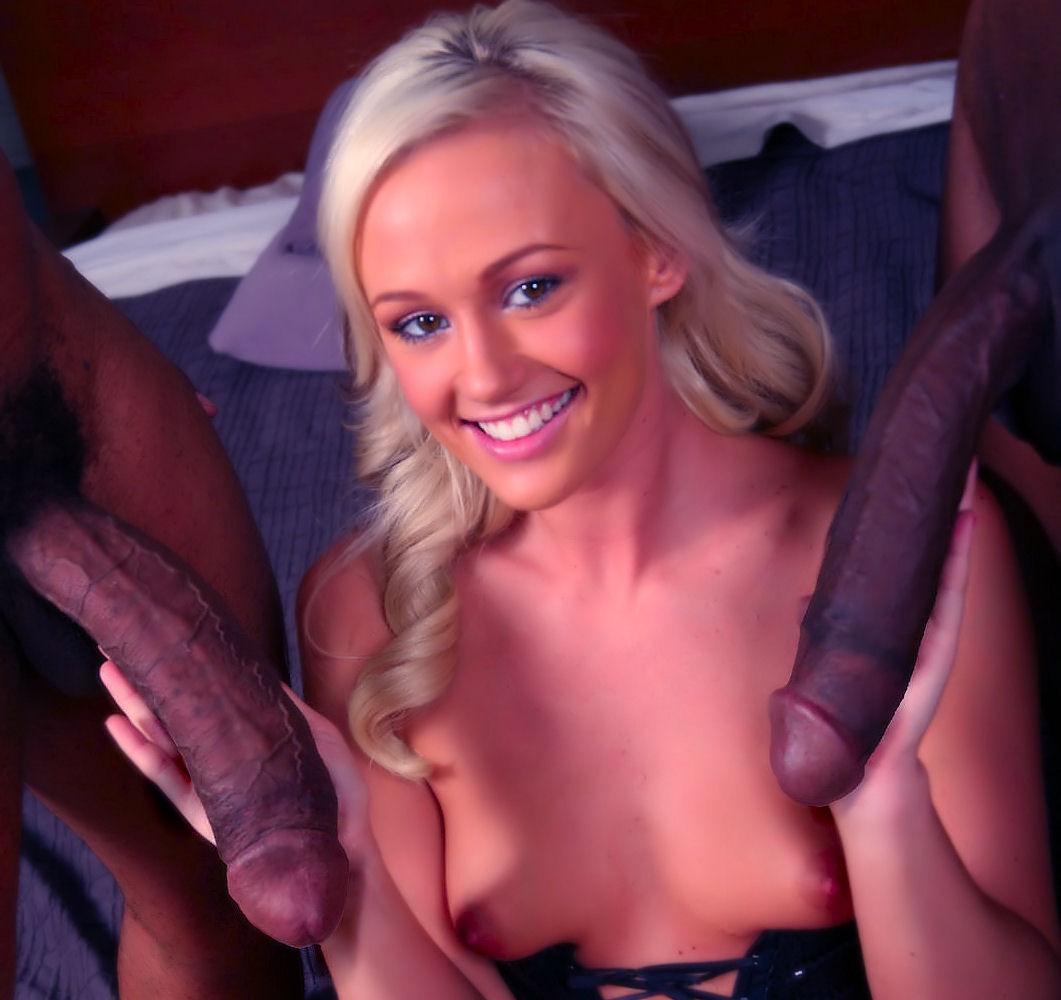 Worship black cock white girls