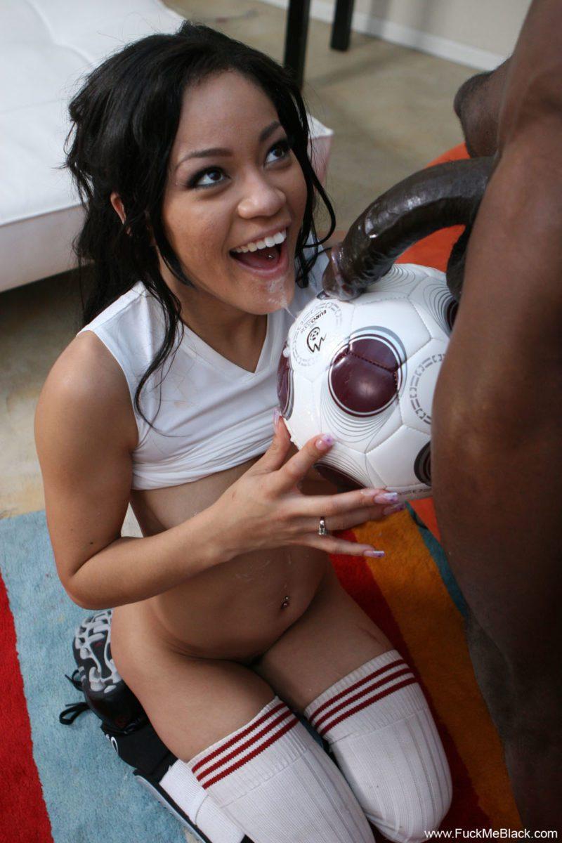 Cumming On Her Ball - image cumming-on-her-ball-800x1200 on https://blackcockcult.com