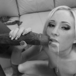 Black, White, And A Splash Of Color - image mouth-full-of-black-cum-248x248 on https://blackcockcult.com