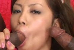 JAV Stars Going Black - image sexy-asian-takes-two-black-dicks-248x169 on https://blackcockcult.com