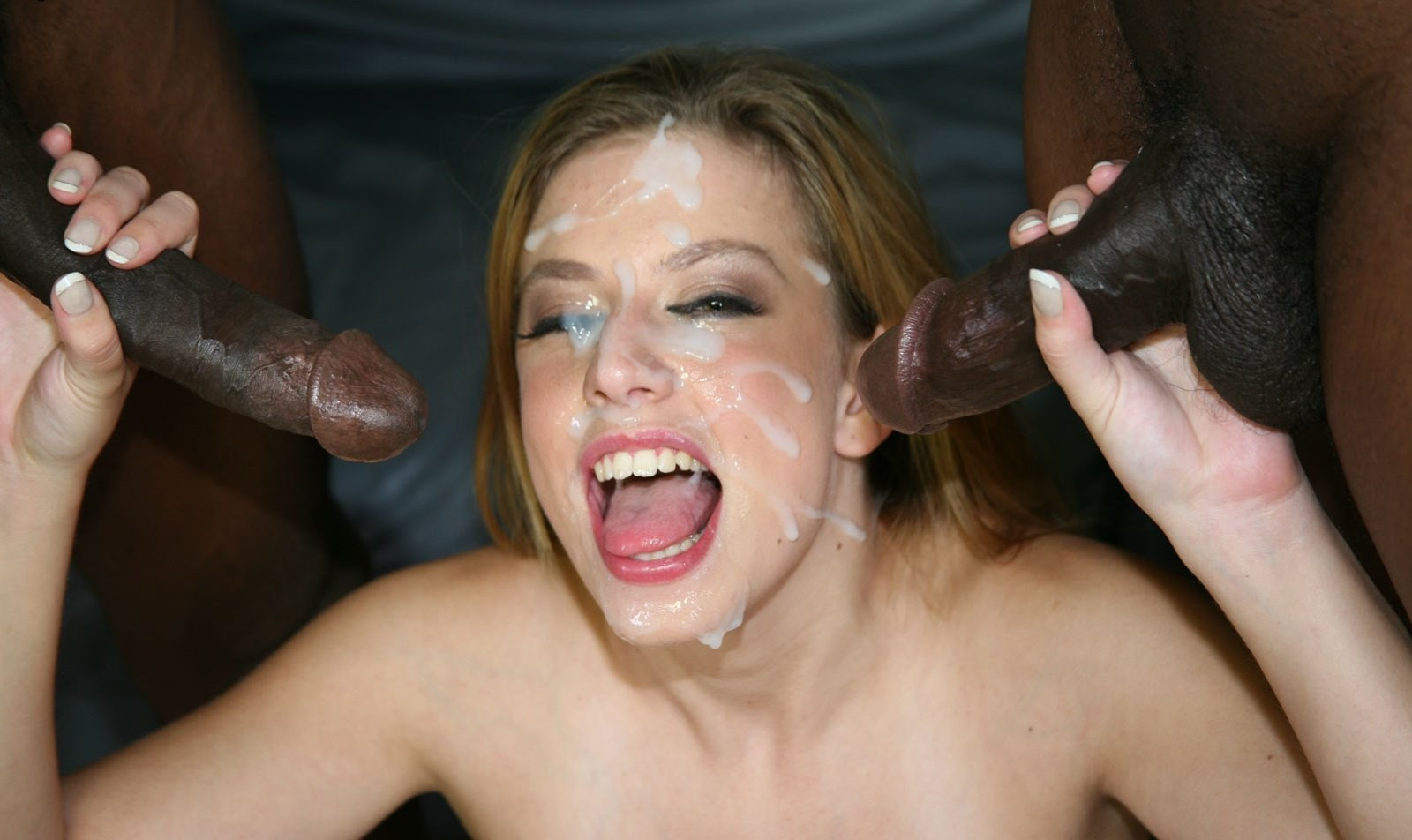 All Over Her Face