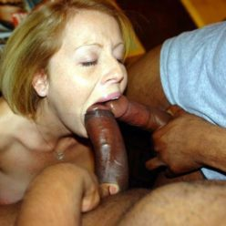 Angel Smalls Takes Two Black Cocks At Once - image two-cocks-one-mouth-248x248 on https://blackcockcult.com