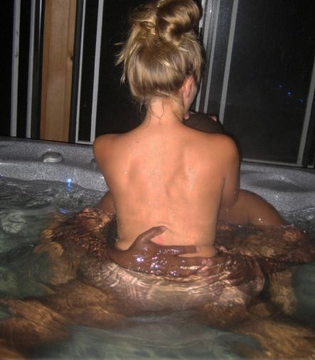 Fucking in the Jacuzzi