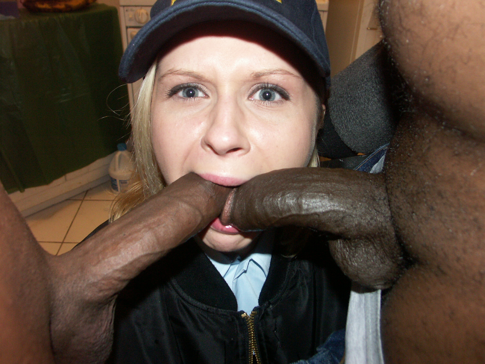 Spunky Screw By Tall And Suspended Big Black Cock In The Douche