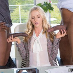 Angel Smalls Takes Two Black Cocks At Once - image she-in-black-cock-heaven-2-mfrh-original-248x248 on https://blackcockcult.com