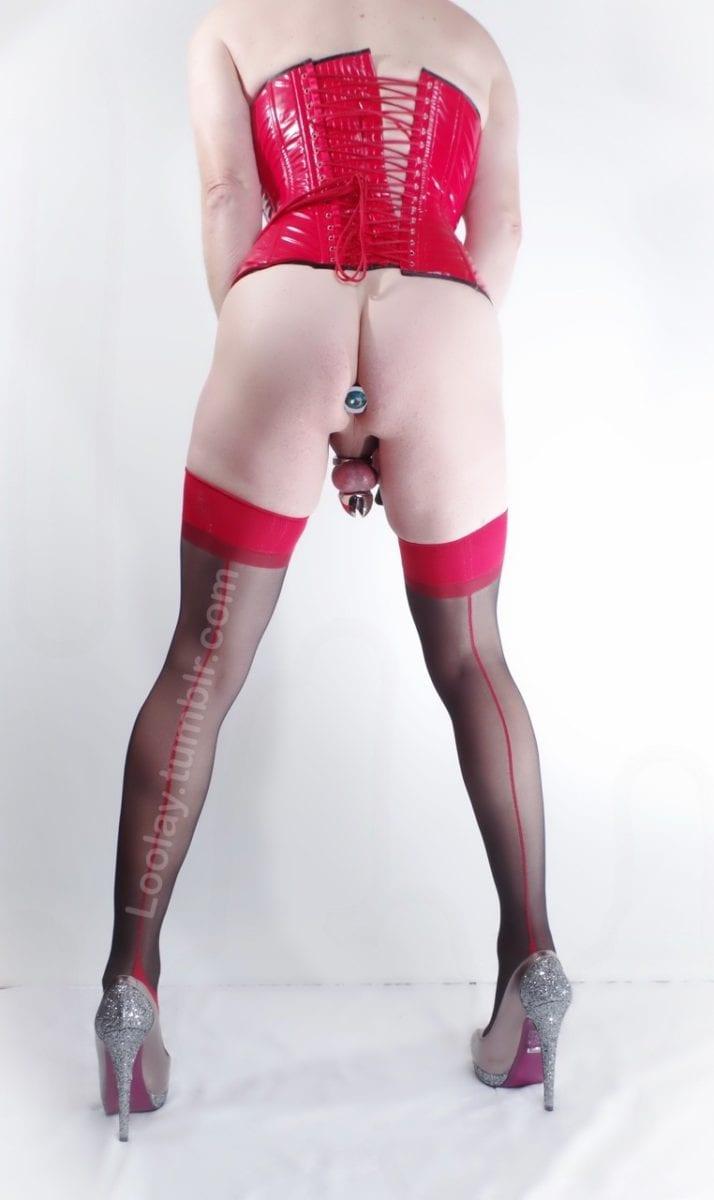 The Anal Jewel - Sissy Slaves [40 Pics] - image 12-714x1200 on https://blackcockcult.com