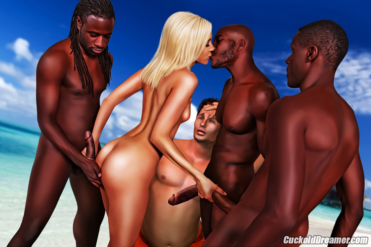 Interracial cuckold comics