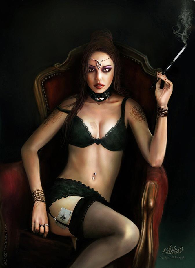 Queen of Spades Artwork - image queen-of-spades-artwork-12 on https://blackcockcult.com