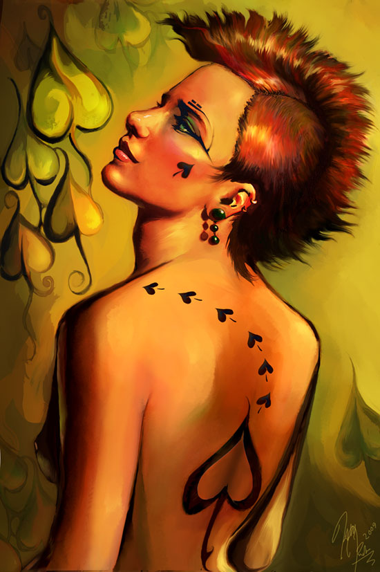 Queen of Spades Artwork - image queen-of-spades-artwork-13 on https://blackcockcult.com