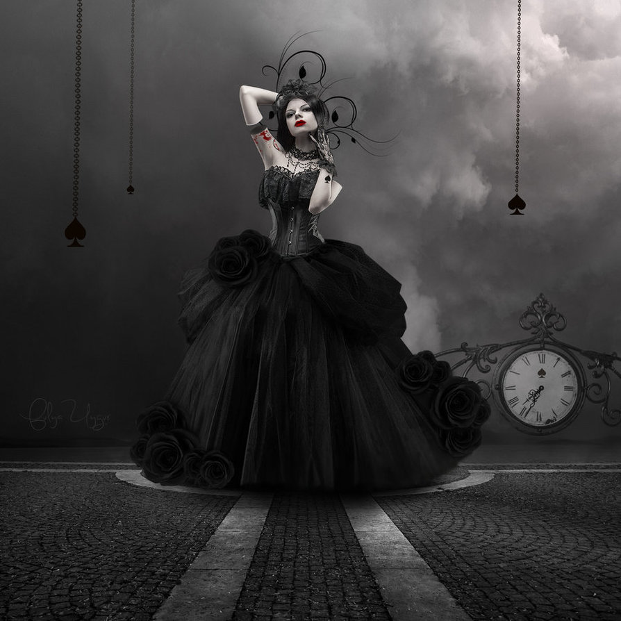 Queen of Spades Artwork - image queen-of-spades-artwork-14 on https://blackcockcult.com