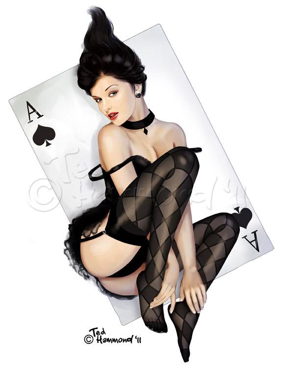 Queen of Spades Artwork - image queen-of-spades-artwork-15 on https://blackcockcult.com
