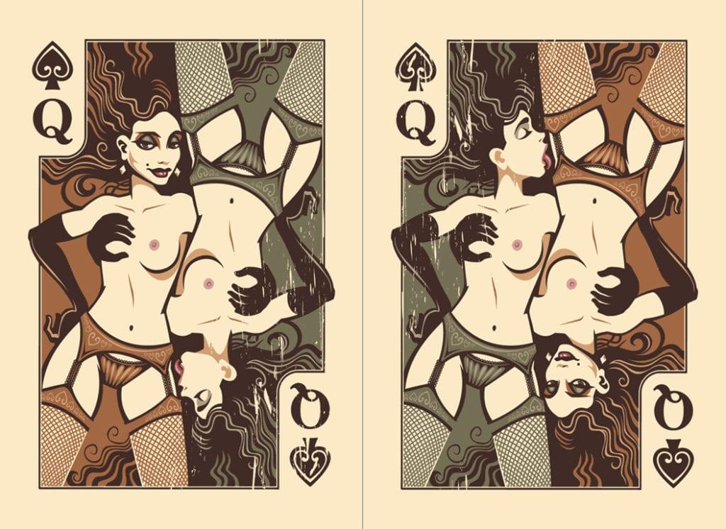 Queen of Spades Artwork - image queen-of-spades-artwork-5-1024x746 on https://blackcockcult.com
