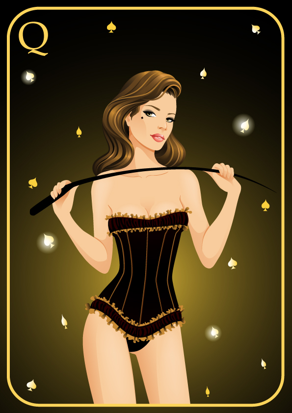 Queen of Spades Artwork - image queen-of-spades-artwork-8 on https://blackcockcult.com