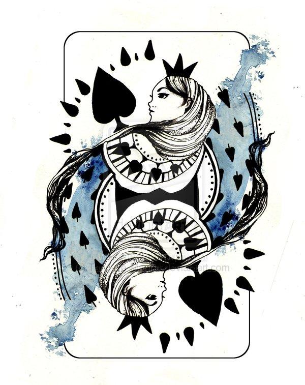Queen of Spades Artwork - image queen-of-spades-artwork-9 on https://blackcockcult.com