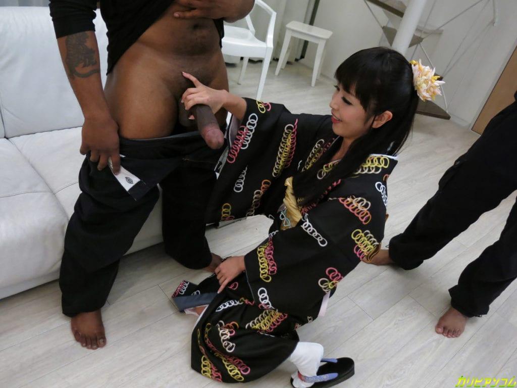 Marica Hase Goes Black in a Kimono - image Marica-Hase-Goes-Black-in-a-Kimono-4-1024x768 on http://blackcockcult.com