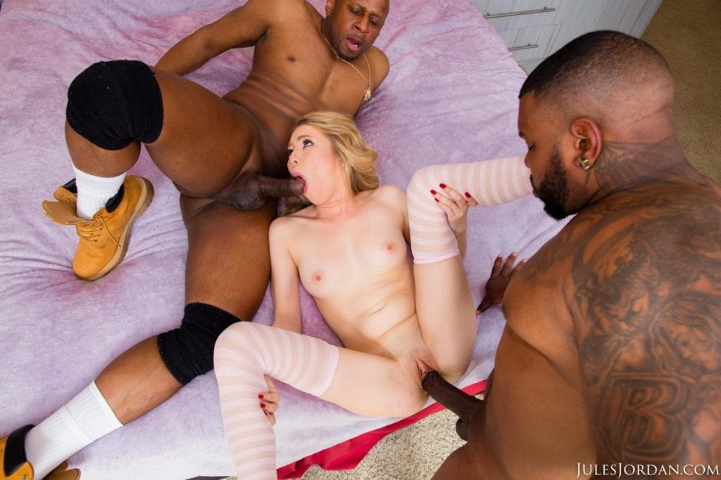 Angel Smalls Takes Two Black Cocks At Once - image angel-smalls-takes-two-black-cocks-at-once-10-1024x683 on https://blackcockcult.com