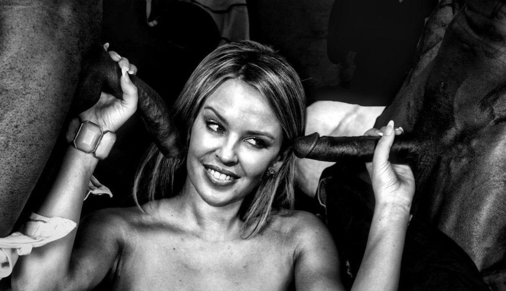 Kylie Minogue Revealed to be a Black Cock Slut - image kylie-minogue-revealed-to-be-a-black-cock-slut-13-1024x589 on https://blackcockcult.com