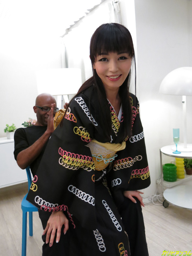 Marica Hase Goes Black in a Kimono - image marica-hase-goes-black-in-a-kimono on https://blackcockcult.com