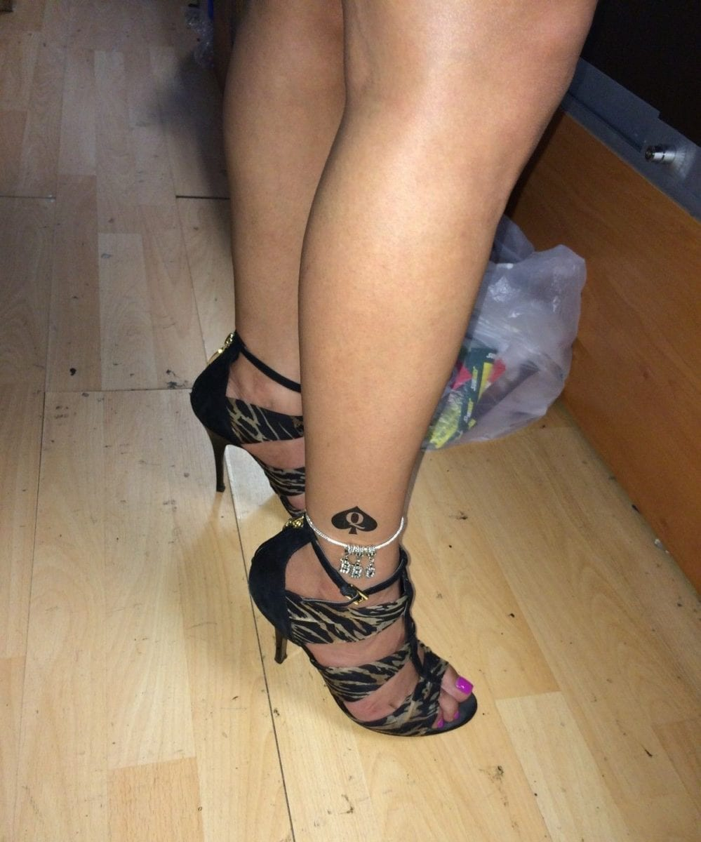 Queen of Spades Anklets and Tattoos - I - image 04-999x1200 on https://blackcockcult.com