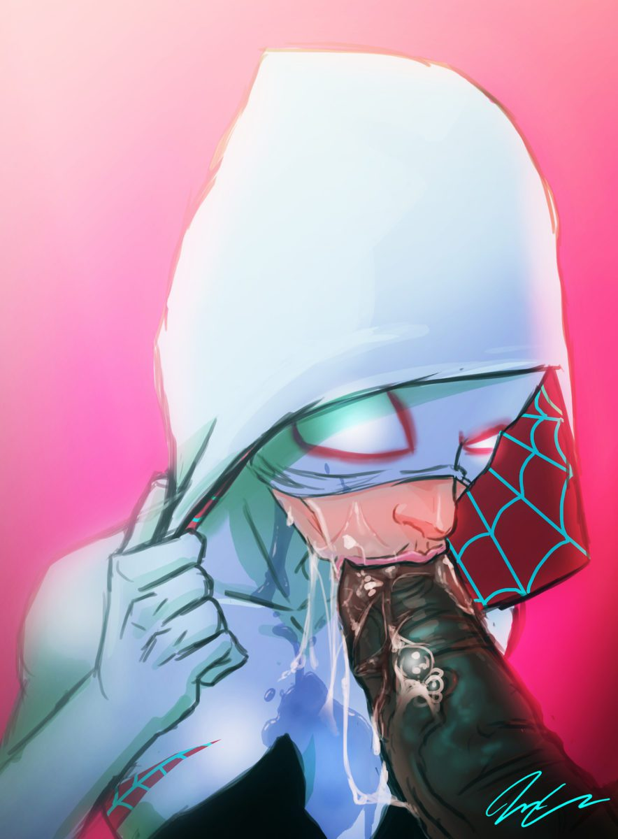 The 'Updated' Spider-Gwen Comic Book - image the-updated-spider-gwen-comic-book-884x1200 on https://blackcockcult.com