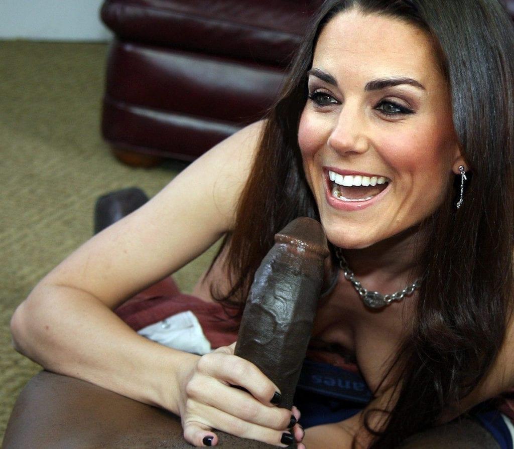 Kate Middleton Can't Resist a Big Black Cock - image kate-middleton-can-t-resist-a-big-black-cock-7-1024x895 on https://blackcockcult.com
