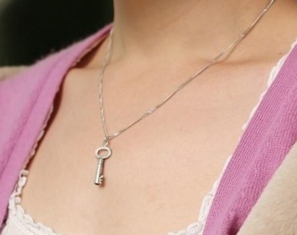 Chastity Keys Make Great Jewelry - II - image chastity-keys-make-great-jewelry-ii-14 on https://blackcockcult.com