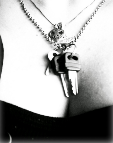 Chastity Keys Make Great Jewelry - III - image chastity-keys-make-great-jewelry-iii-5 on https://blackcockcult.com