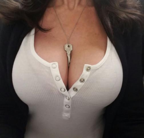 Chastity Keys Make Great Jewelry - IV - image chastity-keys-make-great-jewelry-iv-5 on https://blackcockcult.com