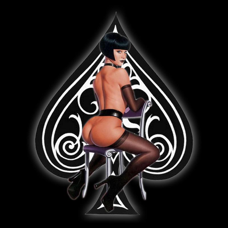 The Queen - image queen on http://blackcockcult.com