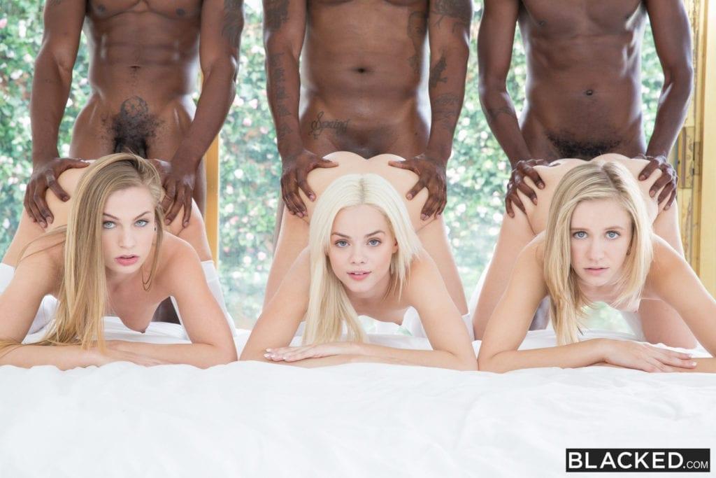 Pale White Princesses Go Black - image  on http://blackcockcult.com
