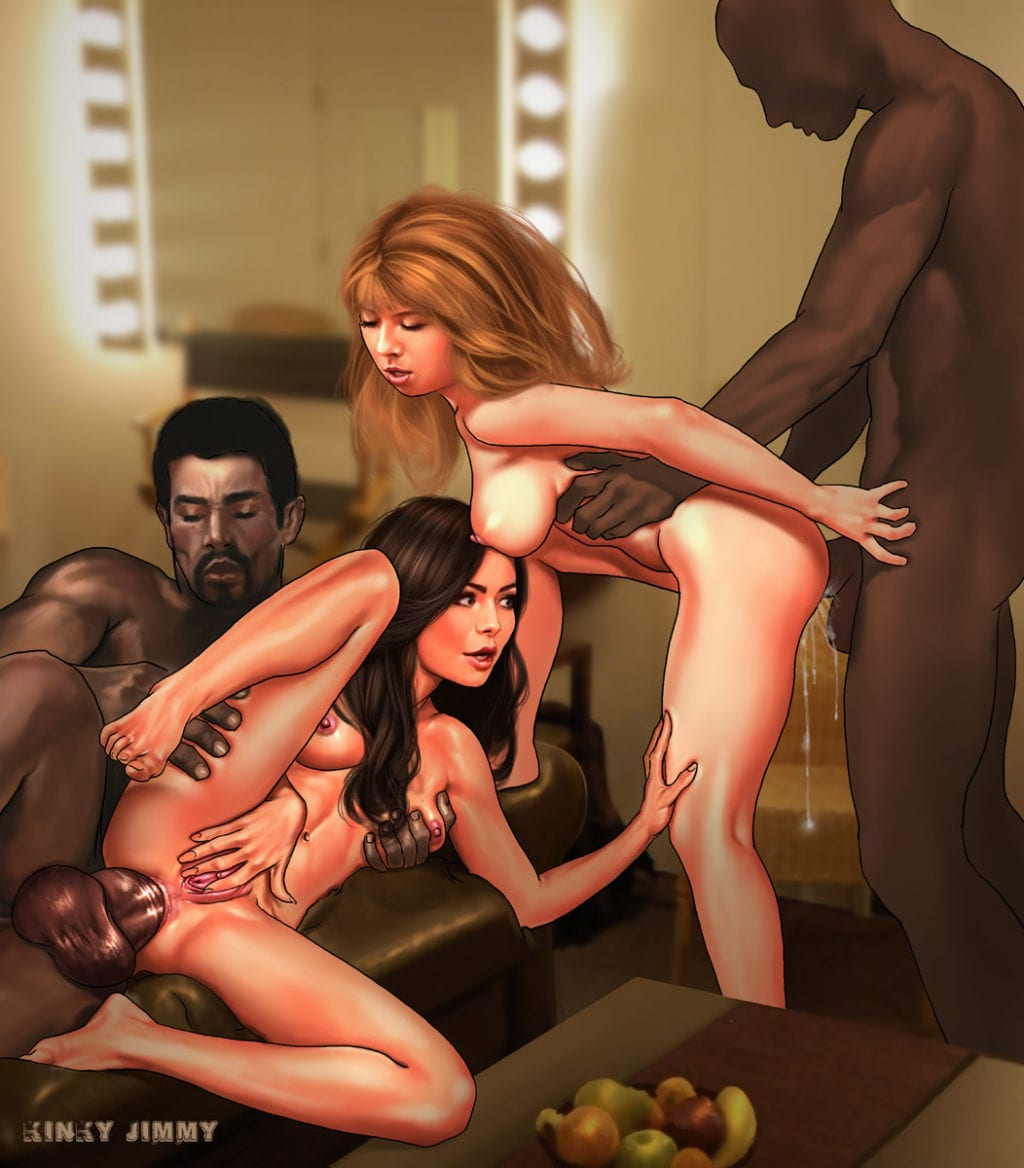 Black Men, White Sissies, and the Hotwives That Love Them: The Artwork of Kinky Jimmy - image black-men-white-sissies-and-the-hotwives-that-love-them-the-artwork-of-kinky-jimmy-3-1024x1168 on https://blackcockcult.com