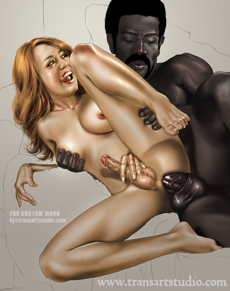 Black Men, White Sissies, and the Hotwives That Love Them: The Artwork of Kinky Jimmy - image  on https://blackcockcult.com