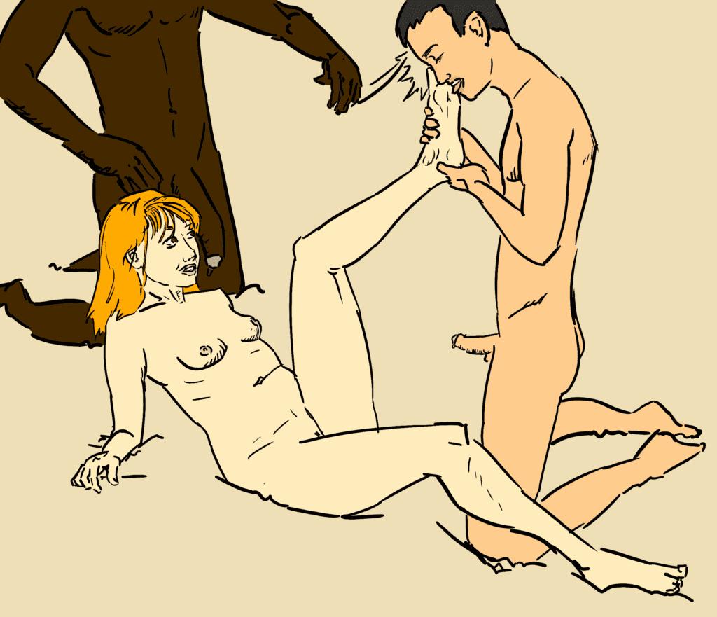 Cuckold Artwork by French Artist