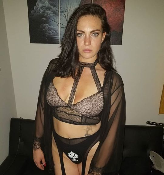 Queen of Spades: Showing Off Your Loyalty in Public - image queen-of-spades-showing-off-your-loyalty-in-public-17 on https://blackcockcult.com