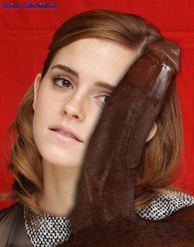 Black Cock Queens: Emma Watson - image black-cock-queens-emma-watson-9 on https://blackcockcult.com