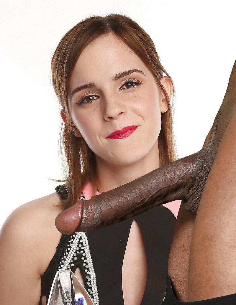 Black Cock Queens: Emma Watson - image  on https://blackcockcult.com