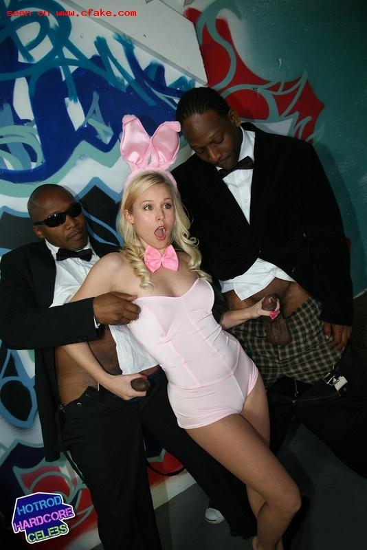 Black Cock Queens: Kristen Bell - image black-cock-queens-kristen-bell-3 on https://blackcockcult.com