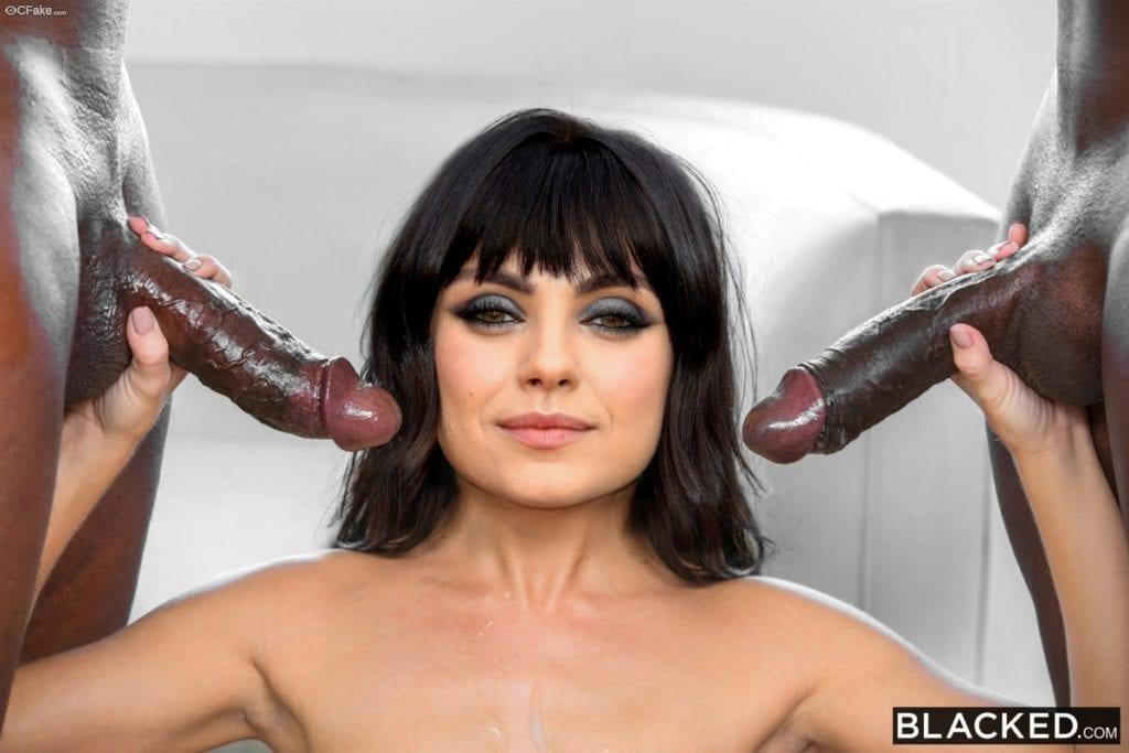 Black Cock Queens: Mila Kunis - image black-cock-queens-mila-kunis-1024x683 on https://blackcockcult.com