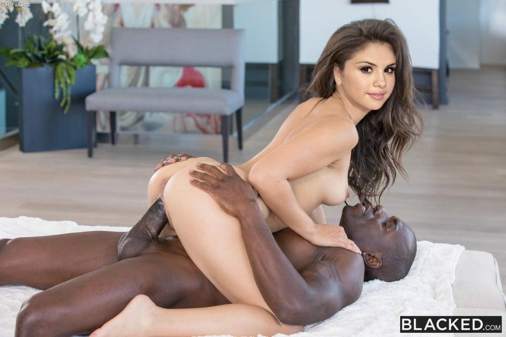 Selena Gomez Blacked - image  on https://blackcockcult.com