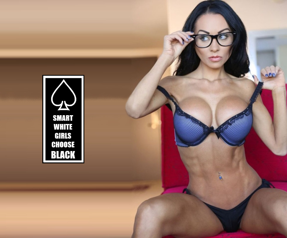 Smart White Girls Choose Black - image Smart-White-Girls-Choose-Black-10 on https://blackcockcult.com