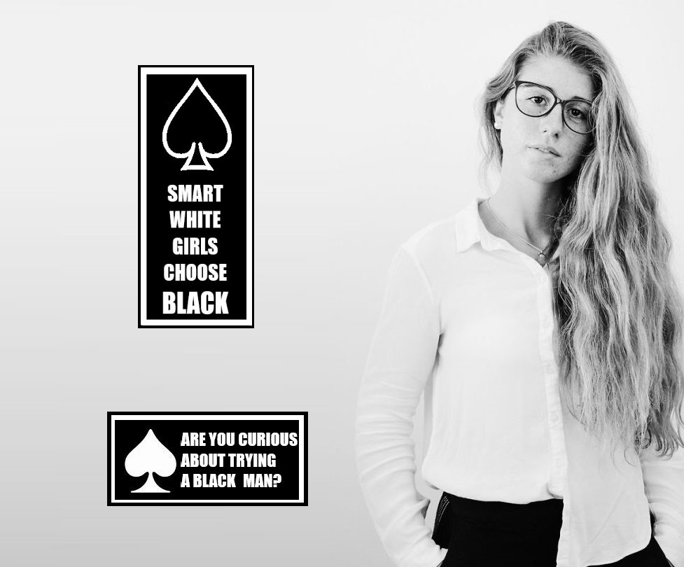 Smart White Girls Choose Black - image Smart-White-Girls-Choose-Black-7 on https://blackcockcult.com