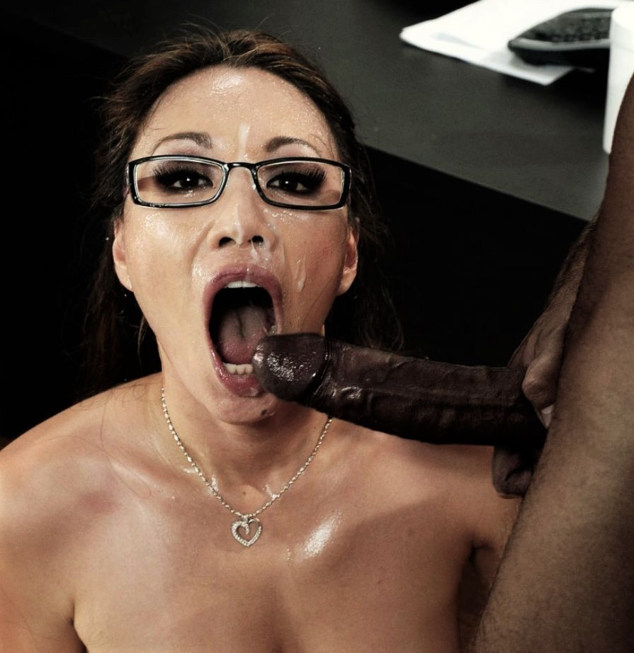 Asian Women Submitting To Black Cock