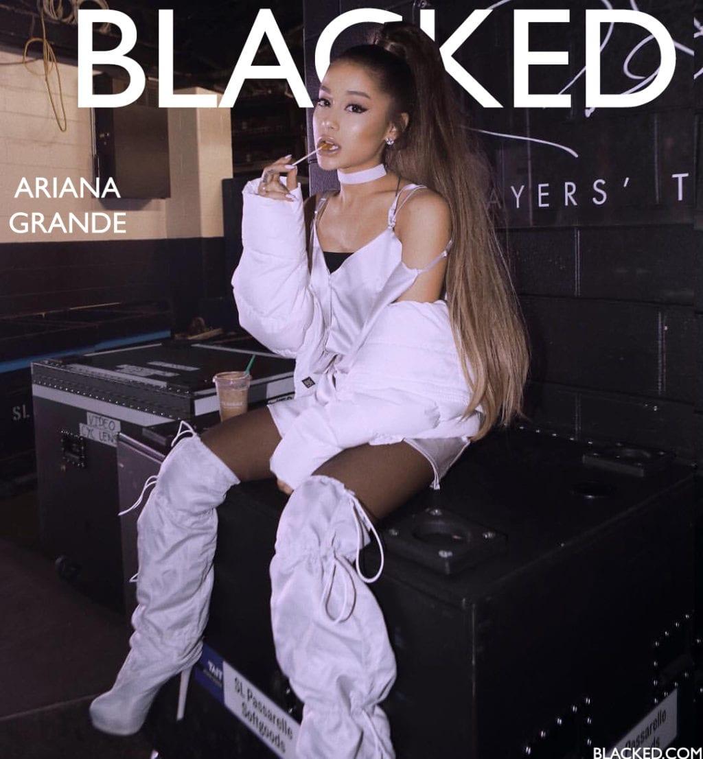 Blacked List: Ariana Grande - image Blacked-List-Ariana-Grande-6-1024x1106 on https://blackcockcult.com