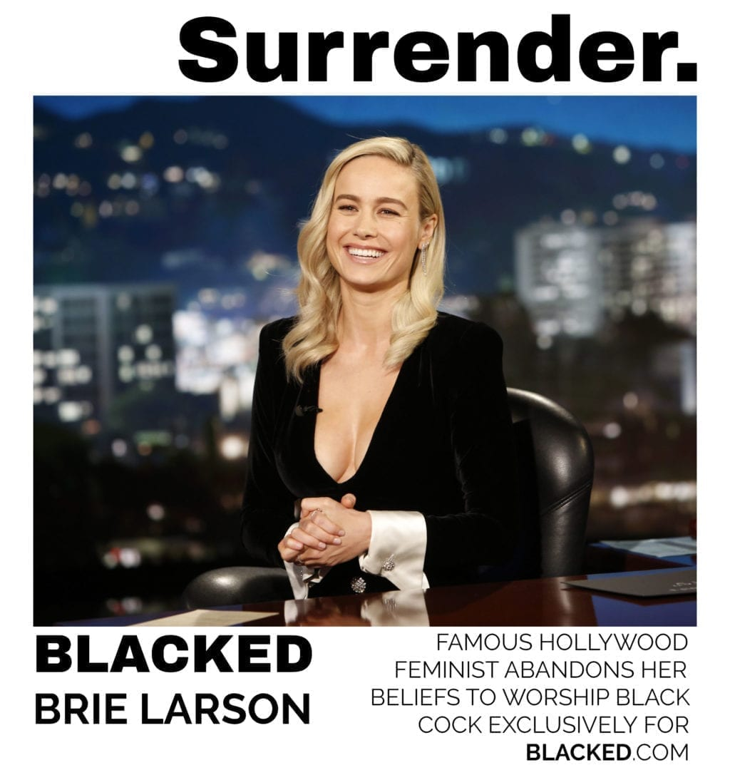 Blacked List: Brie Larson - image Blacked-List-Brie-Larson-1-1024x1080 on https://blackcockcult.com