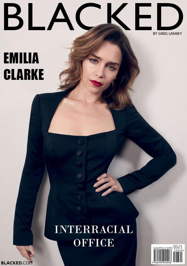 Blacked List: Emilia Clarke - image Blacked-List-Emilia-Clarke-2 on https://blackcockcult.com