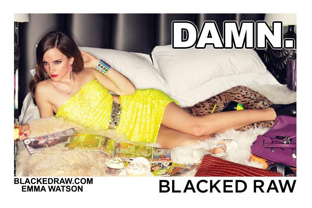 Blacked List: Emma Watson - image Blacked-List-Emma-Watson-2 on https://blackcockcult.com