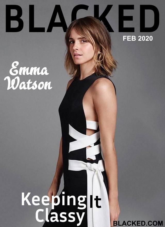Blacked List: Emma Watson - image Blacked-List-Emma-Watson-4 on https://blackcockcult.com