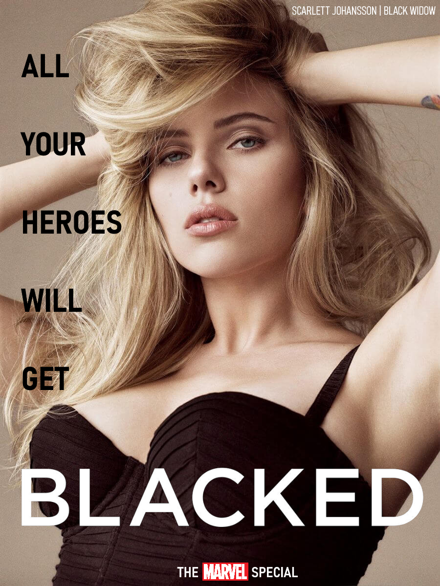 Blacked List: Scarlett Johansson - image Blacked-Widow on https://blackcockcult.com
