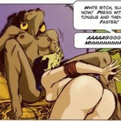 Feminize, Chastise, Fulfill Your Destiny Whitebois - image Black-Lesbian-Goddess-Artwork-5-248x248 on https://blackcockcult.com
