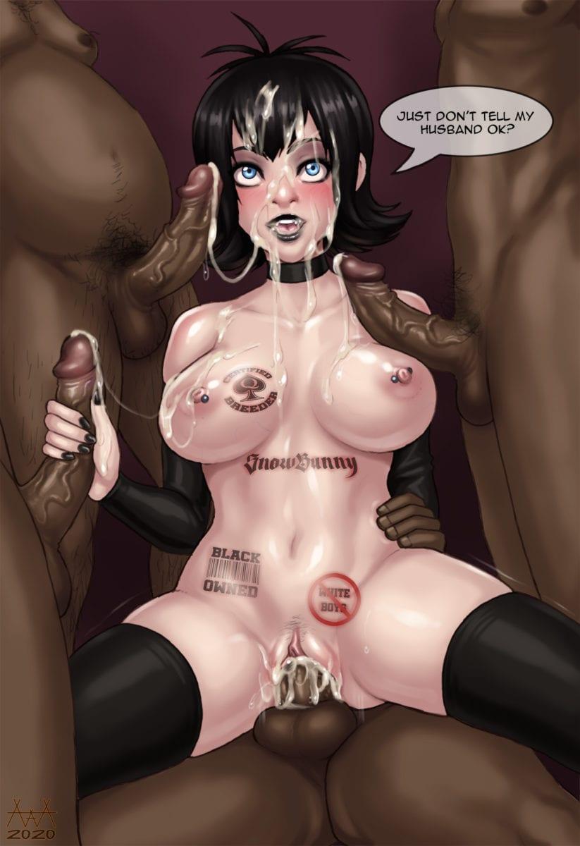 Cuckolding Artwork By AAA Ninja - image  on https://blackcockcult.com